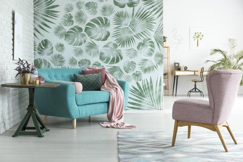 natuur in huis zonder planten