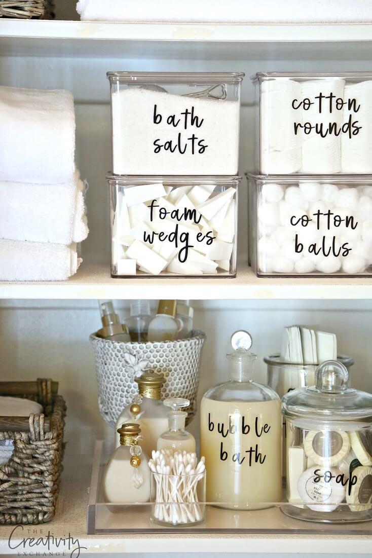 labels huishouden
