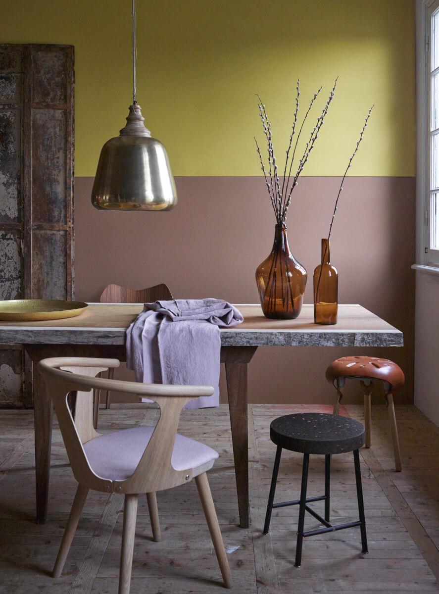 kleurencombinaties woonkamer