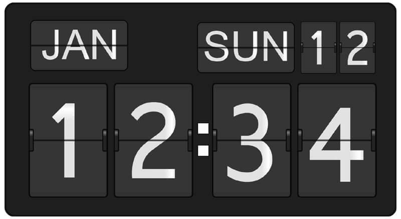 Digitale kalender