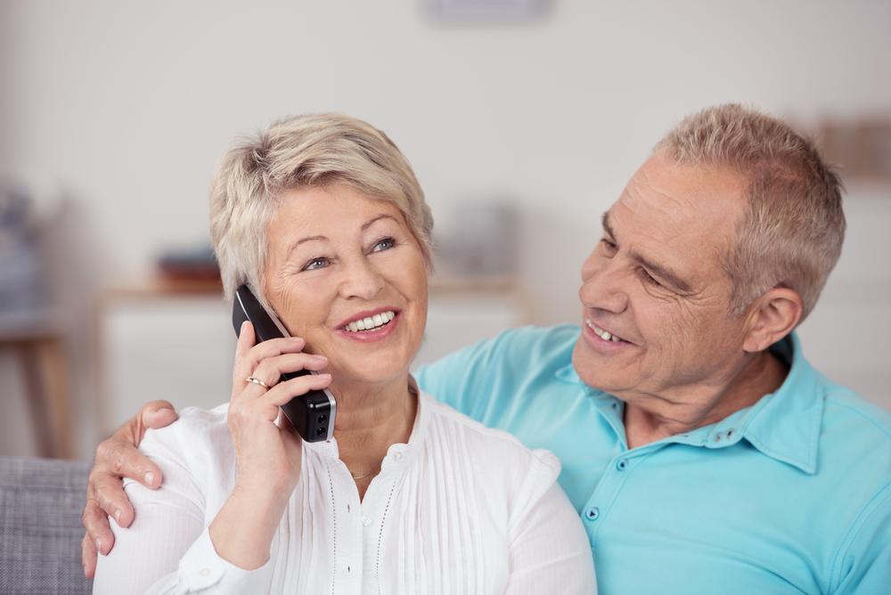 Huistelefoon voor senioren