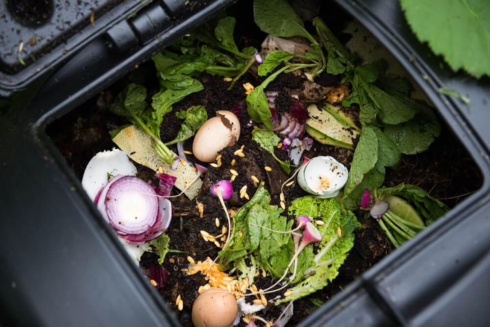 compost maken tuin