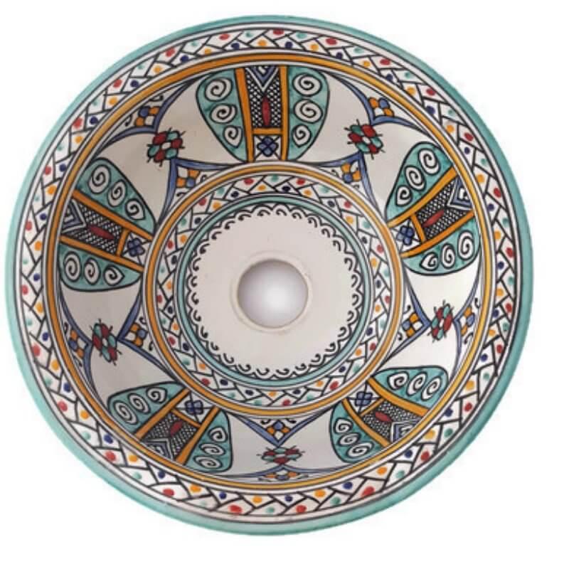 Marokkaanse wastafel
