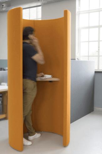 privacy kantoor interieur akoestisch