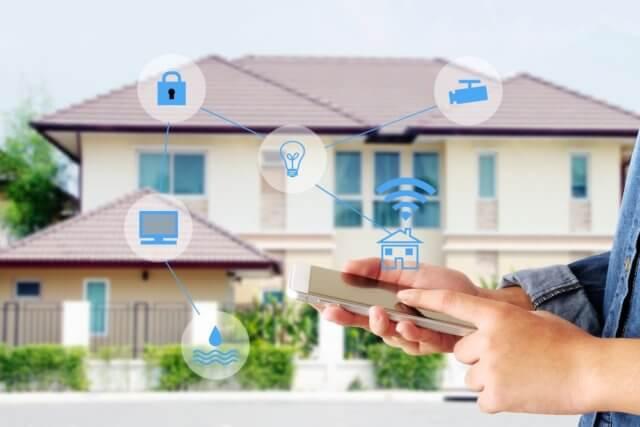 Smart home huis