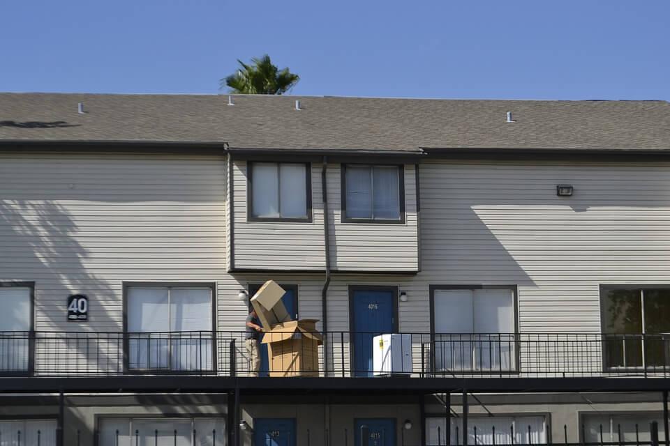 Verhuizen naar appartement