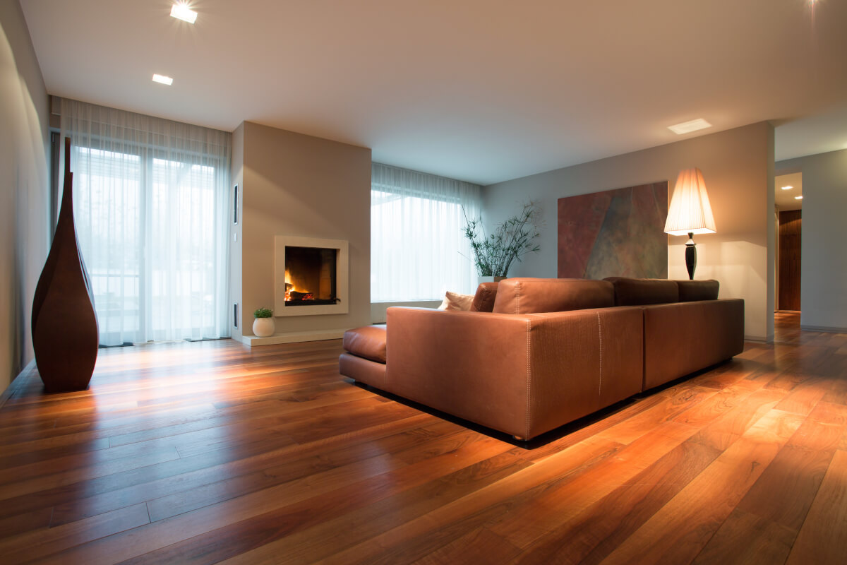 houten vloer of laminaat