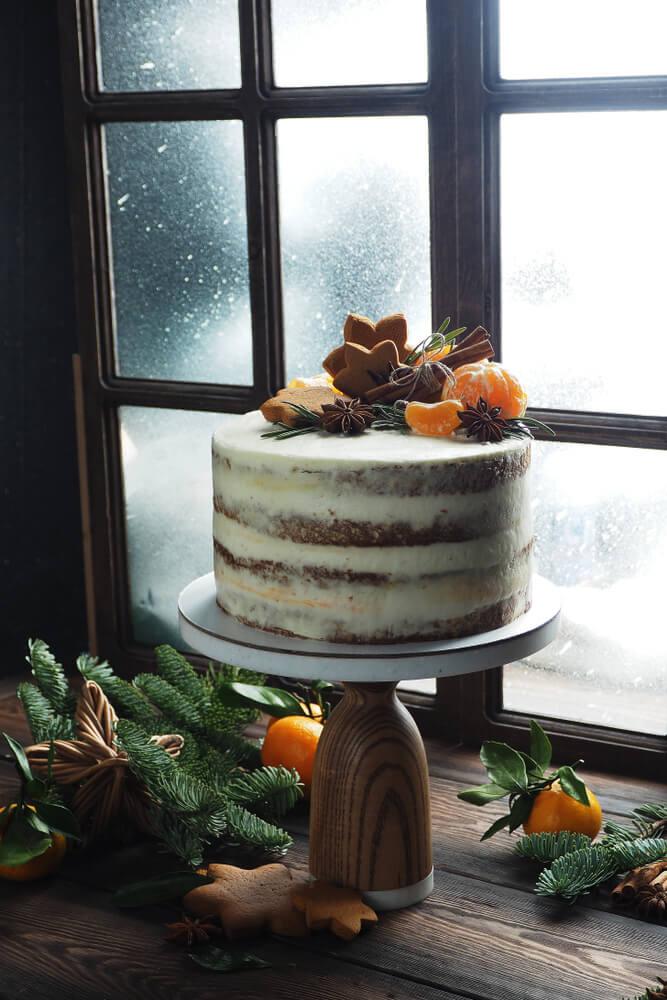 Winterse taart