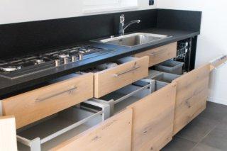 Keuken inrichting opbergvakjes