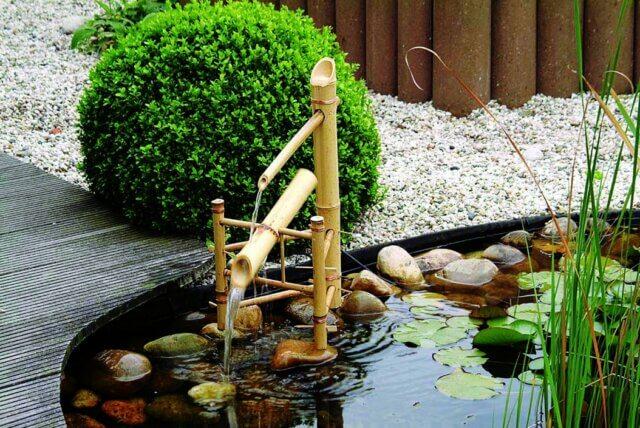 Waterornament Bamboo van haxo