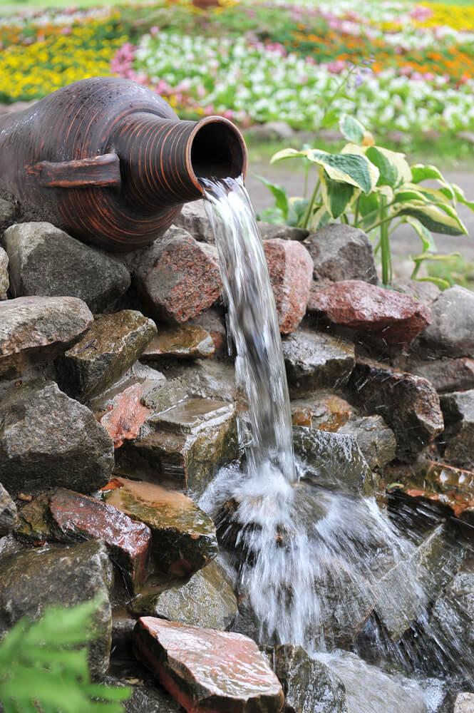 Waterval uit Griekse vaas