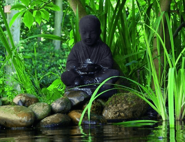 Waterornament Boeddha