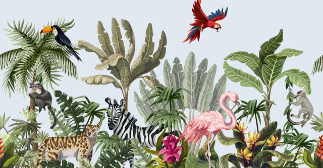 Trendy: een interieur geïnspireerd op dieren