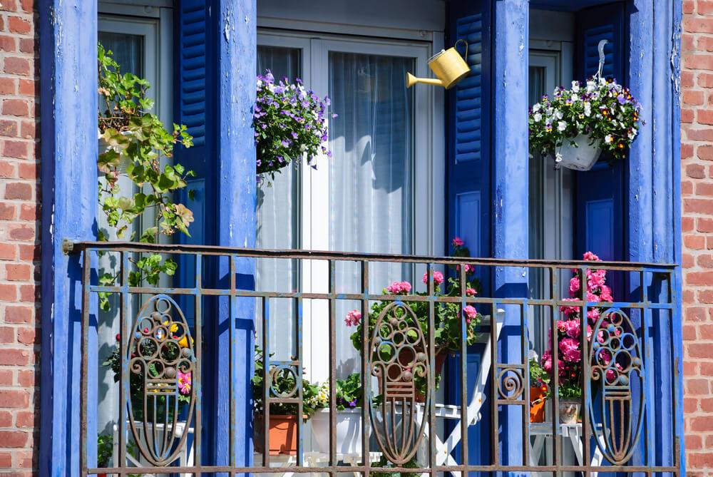 Balkon Franse stijl