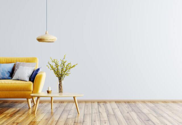 Durf te kiezen voor een okergele velvet bank in huis