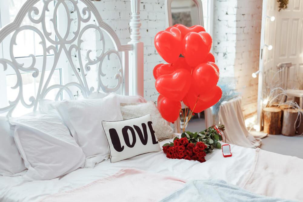 Tips en voorbeelden voor een romantische slaapkamer