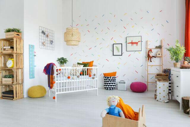 Dit zijn de leukste thema's voor de babykamer