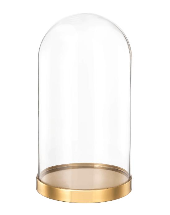 Stralend bij het paasontbijt: een stolp op tafel