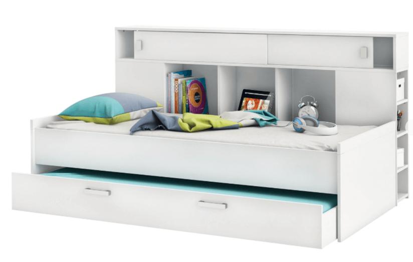 Wauw! Een bed met opbergruimte in de kinderkamer