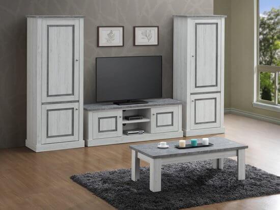 TV meubel met hoge kast