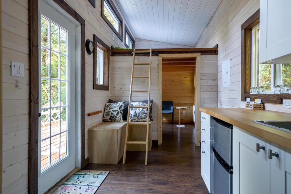Dit zijn de voordelen van wonen in een tiny house