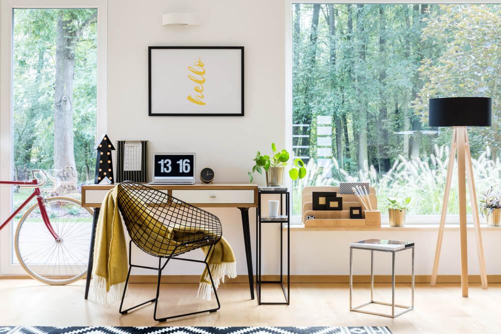 Tips voor een thuiswerkplek in de woonkamer