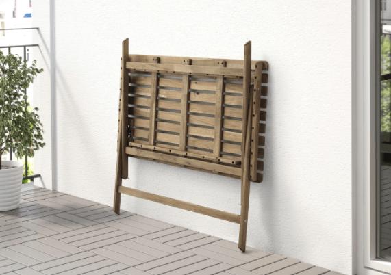 Opklapbare tafel ikea balkon