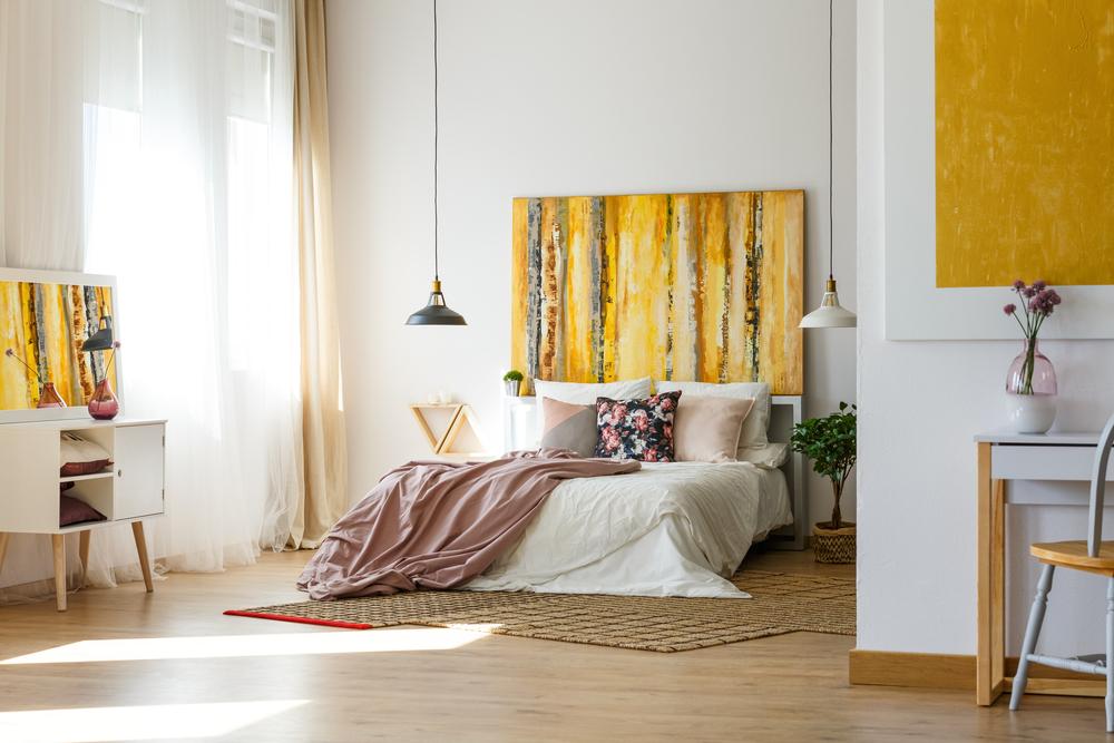Slaapkamer in het geel? Bekijk onze voorbeelden!