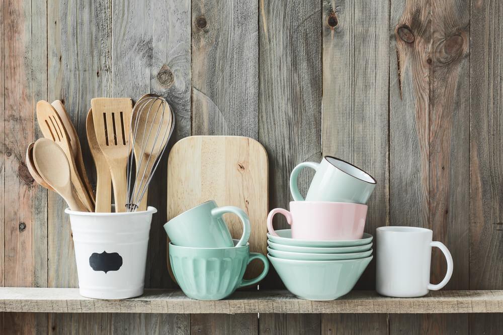 Pastel accessoires in de keuken: vrolijk en kleurrijk