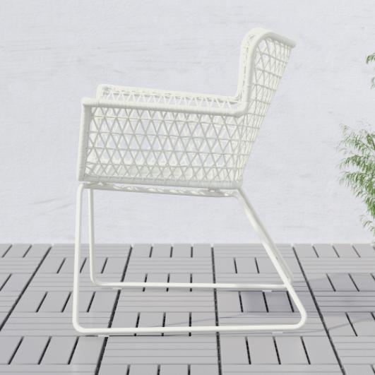 Witte goedkope tuinstoelen Ikea
