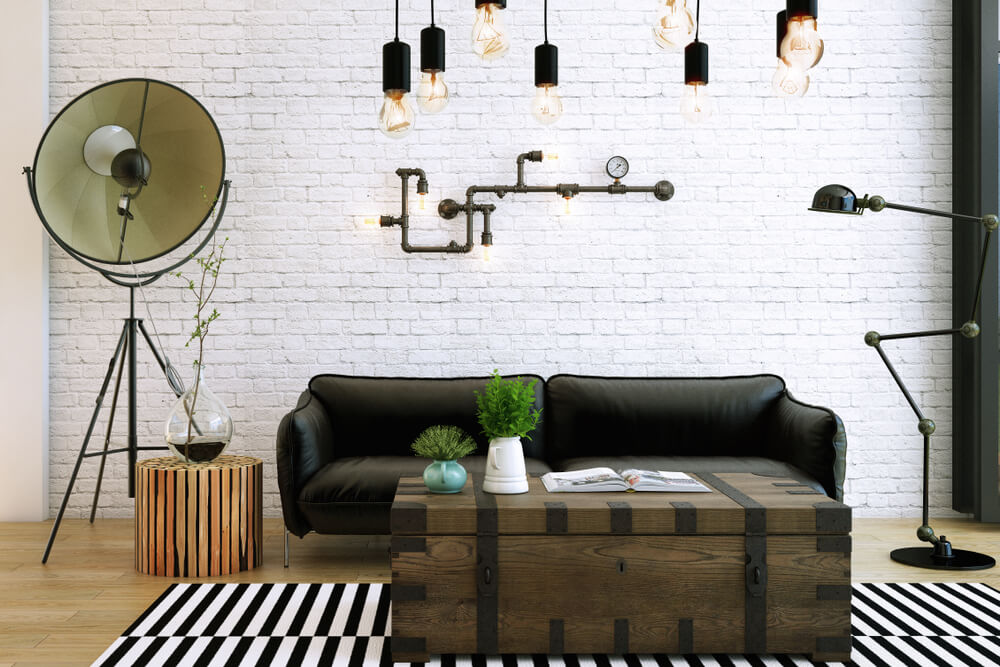 5 Ideeen Voor Industriele En Houten Muurdecoratie Ik Woon Fijn