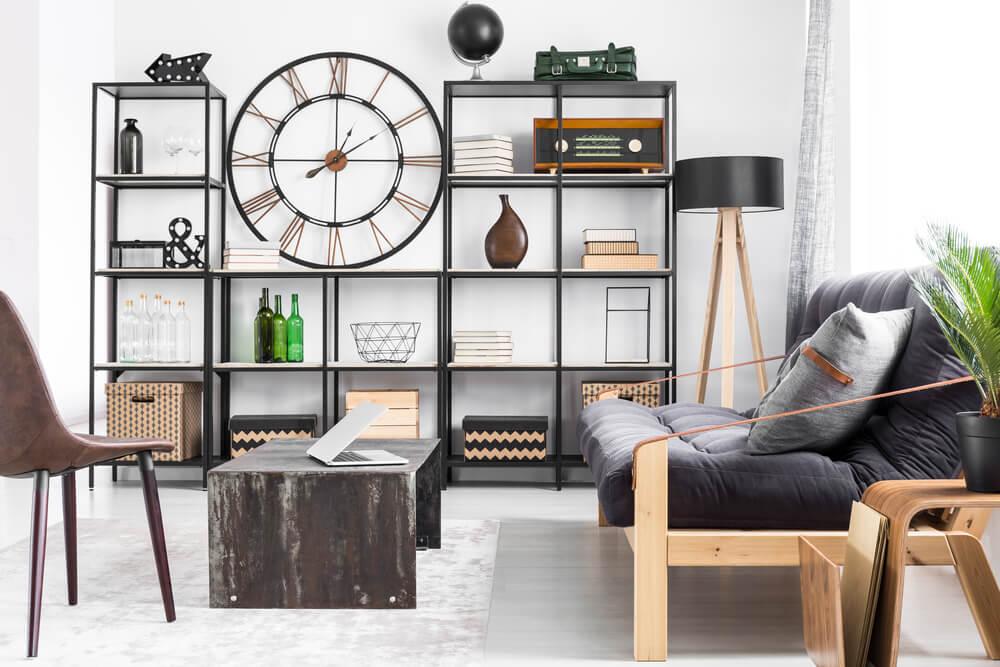 Spiksplinternieuw 5 ideeën voor industriële en houten muurdecoratie | Ik woon fijn HK-26