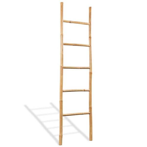 Bamboe ladder voor in huis