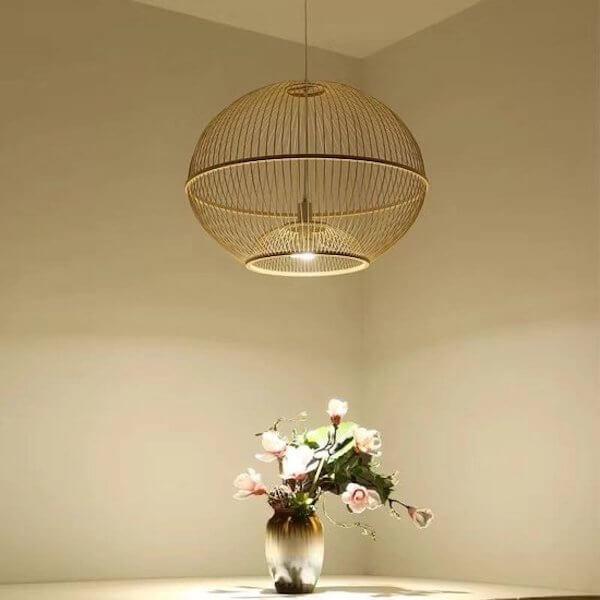 Bamboe lampen verlichting