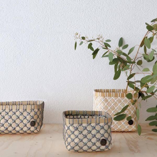 Bamboe mandjes als decoratie