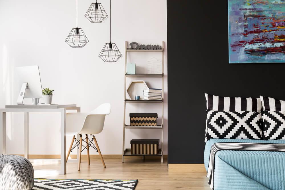 4 tips voor het inrichten van een bureauruimte in de slaapkamer