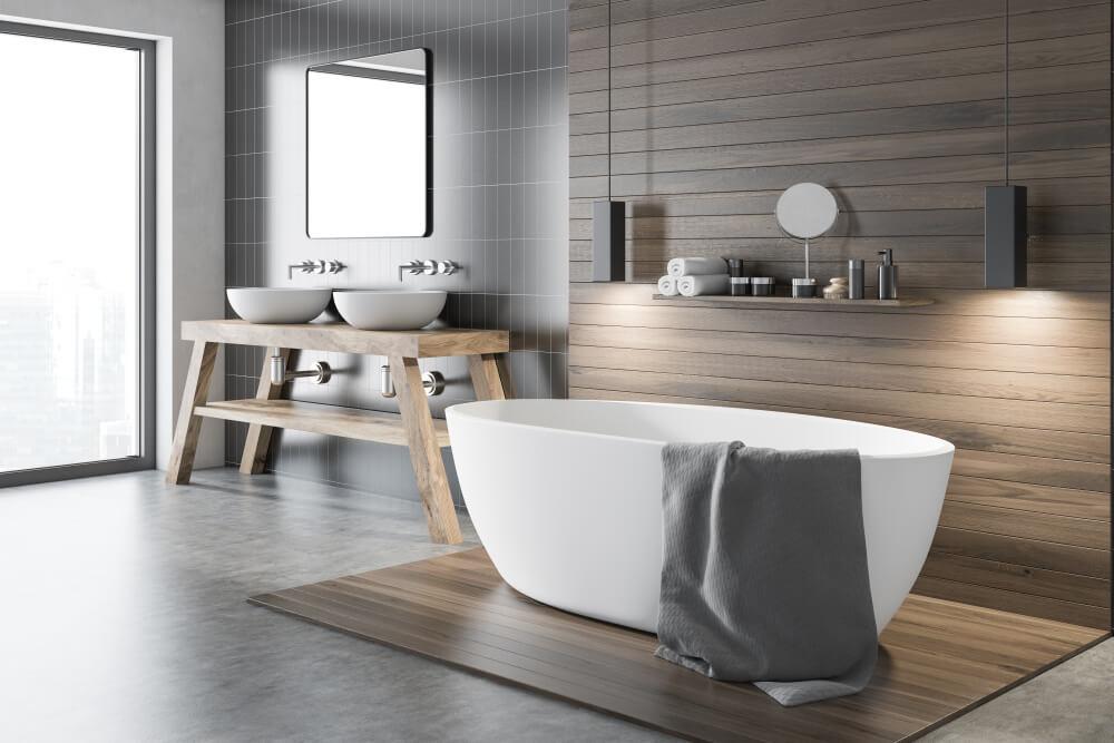 Dit zijn de voordelen van een vrijstaand bad in de badkamer