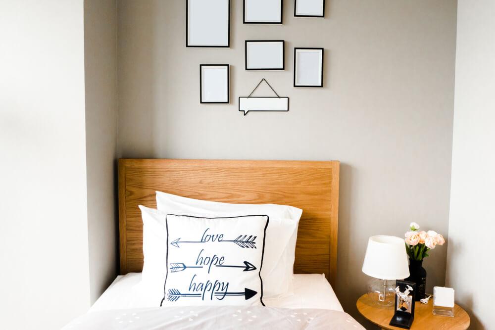 Een kleine slaapkamer inrichten: zo pak je het aan!