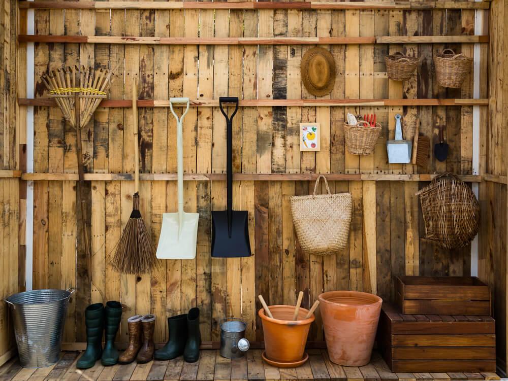 5x inspiratie: handige ideeën voor opbergen in de tuin