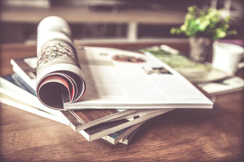 Mooie manieren voor het opbergen van tijdschriften