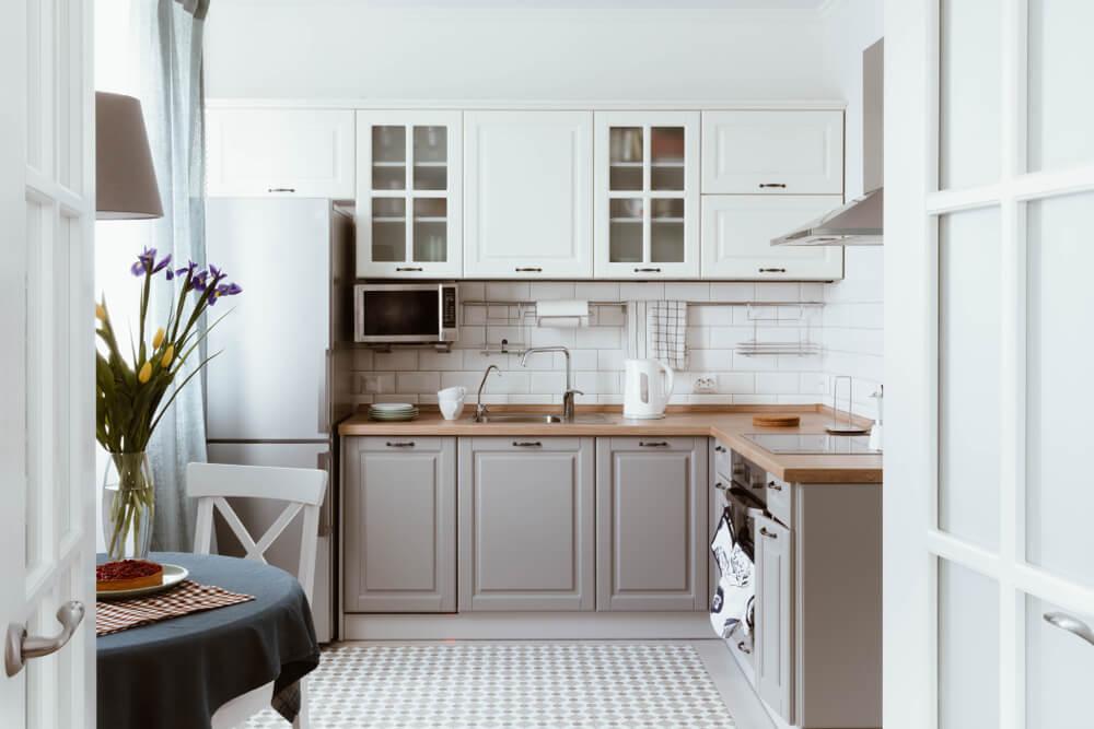 Grijs in de keuken: voorbeelden en inspiratie