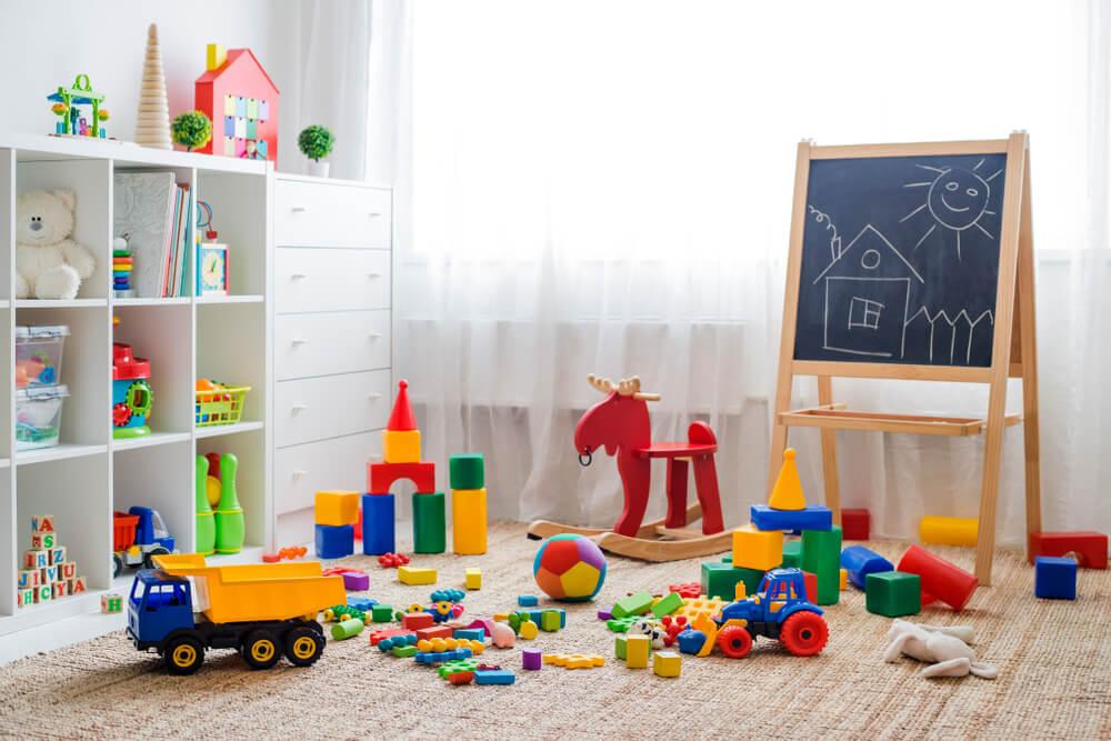Speelgoed opbergen in een handige boekenkast
