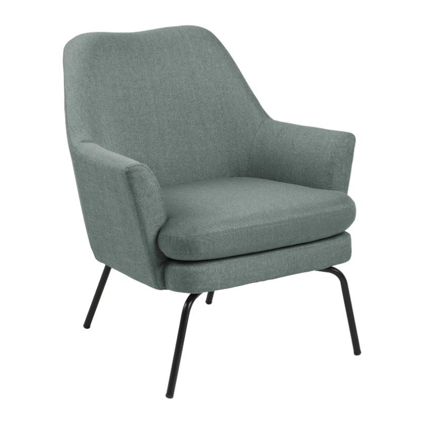 olijfgroene fauteuil fonq