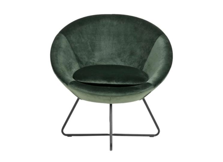 eivormige fauteuil