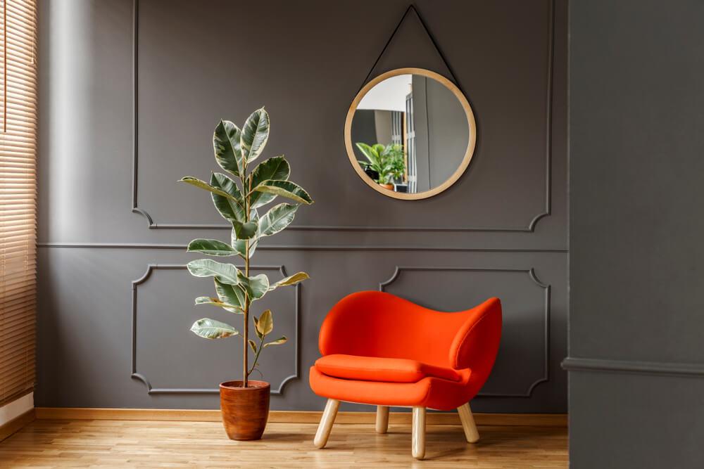 On trend: een ronde spiegel in huis als eyecatcher