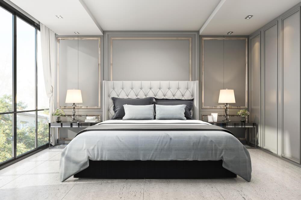 Een luxe inrichting in de slaapkamer? 7x zo pak je het aan!