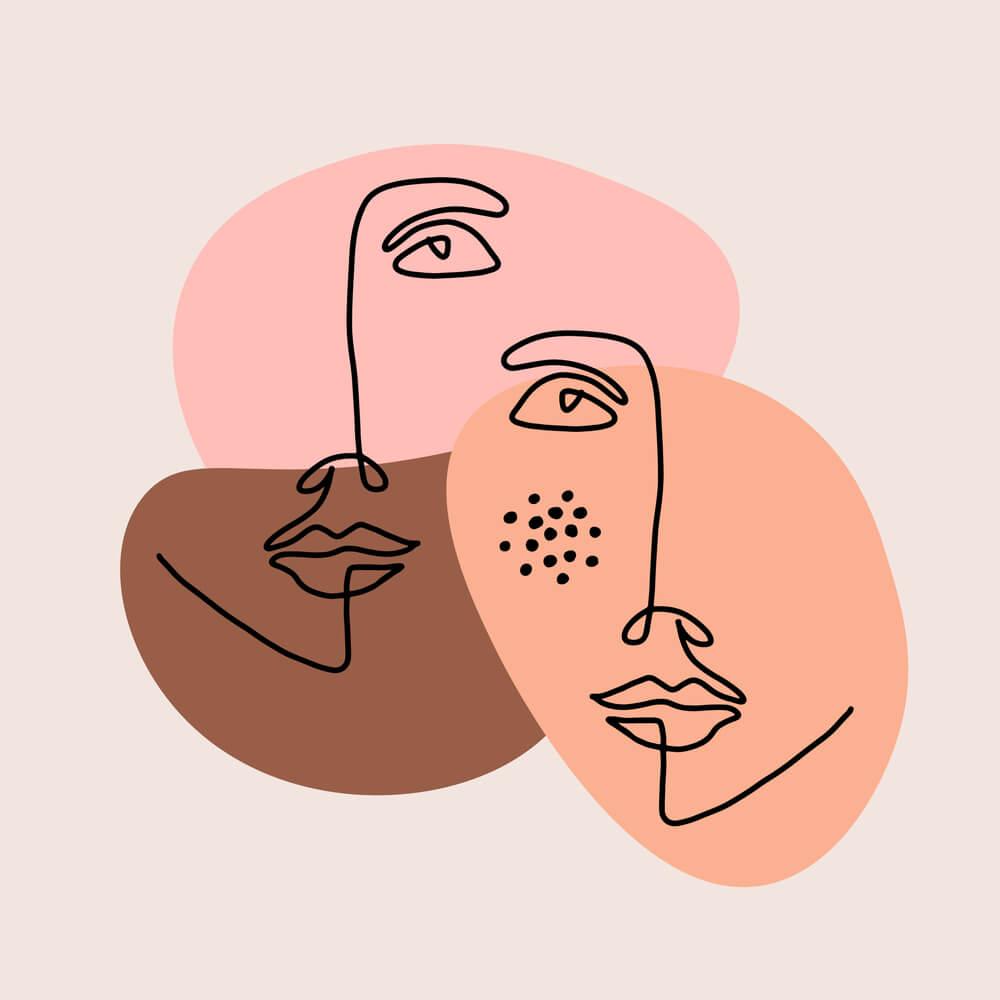 Trendy: gezichten in je interieur