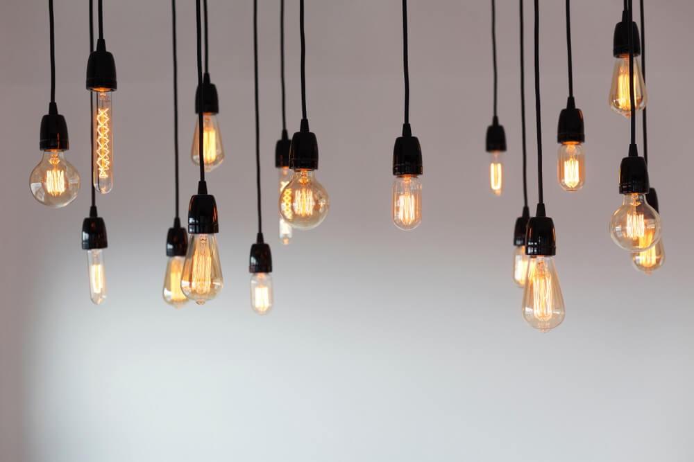 Verlichting in huis kleur