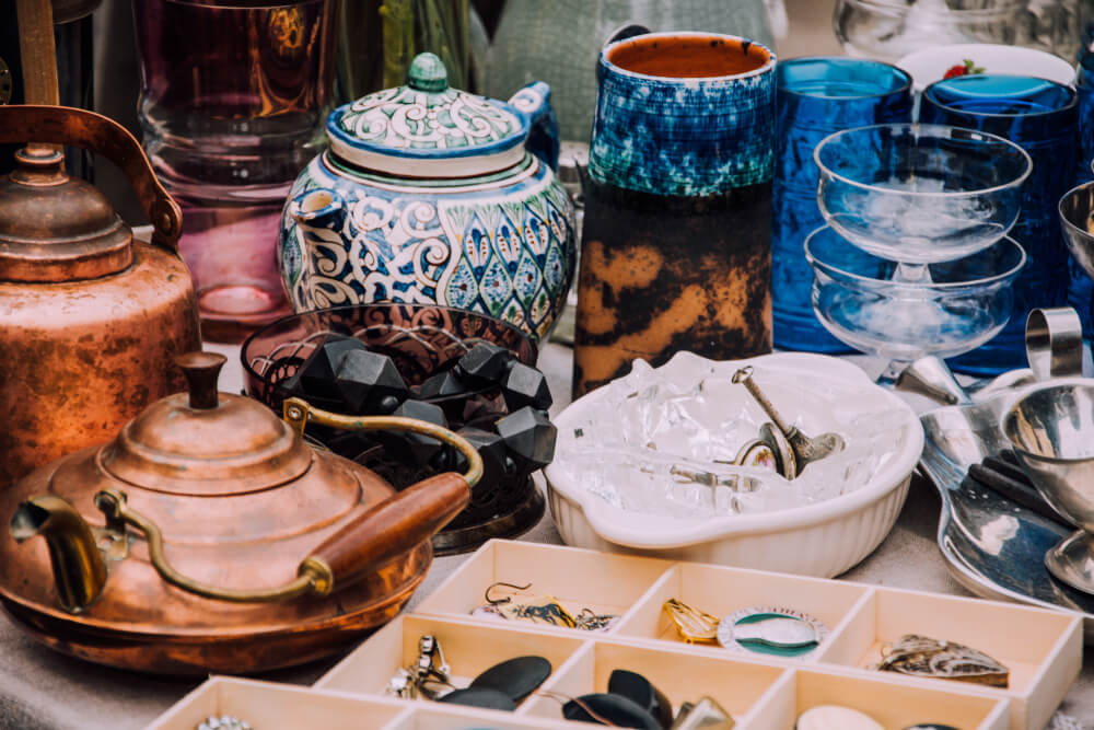 Interieur items kopen op een rommelmarkt? 6 handige tips om op te letten!