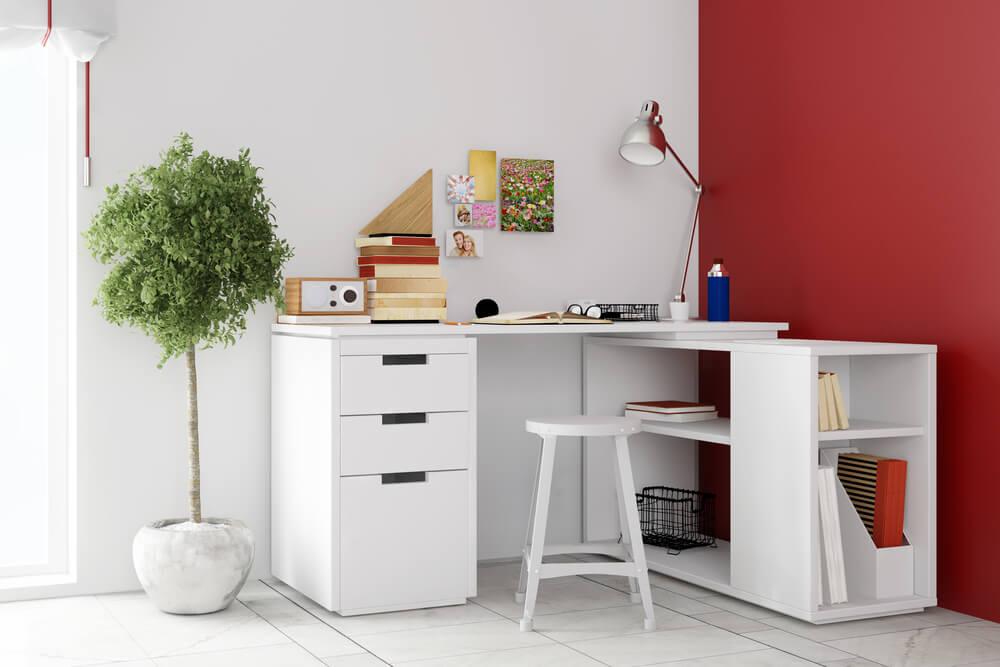 Heb je een kleine home office? 7x zó pak je de inrichting echt slim aan!